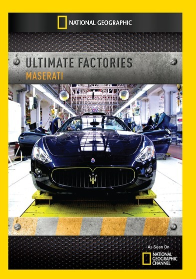 National Geographic - Ultimate Factories: Maserati #727994953968