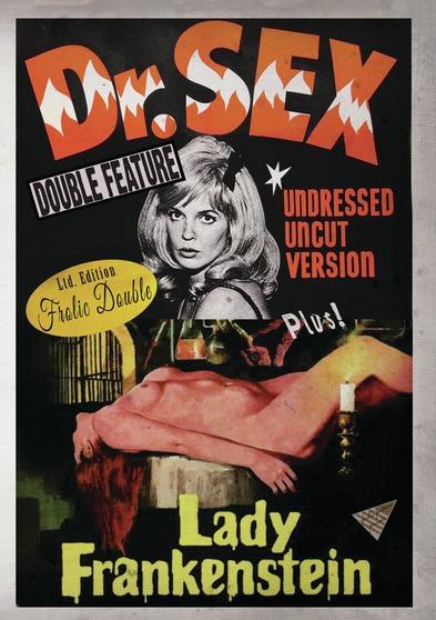 Dr. Sex / Lady Frankenstein (DVD) 810162032807 (DVDs and