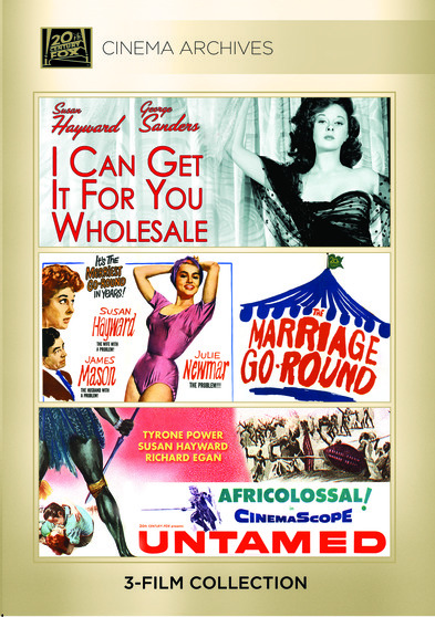 I Can Get It for You Wholesale 1951; Marriage-Go-Round 1961; Untamed 1955