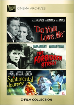 (Maureen O' Hara Set) Do You Love Me; Forbidden Street; Sentimental Journey