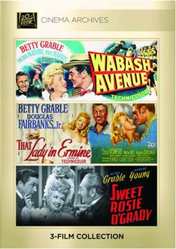 (Betty Grable Set) Wabash Avenue; That Lady In Ermine; Sweet Rosie O'Grady