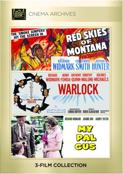(Richard Widmark)Red Skies Of Montana; Warlock; My Pal Gus