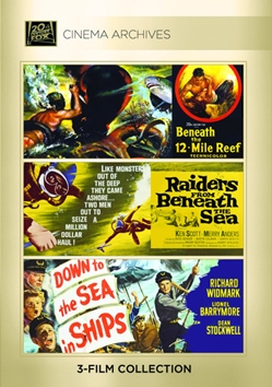 Beneath The 12-Mile Reef; Raiders From Beneath The Sea; Down To The Sea In Ships