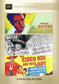 The Cisco Kid; The Return Of The Cisco Kid; The Cisco Kid And The Lady