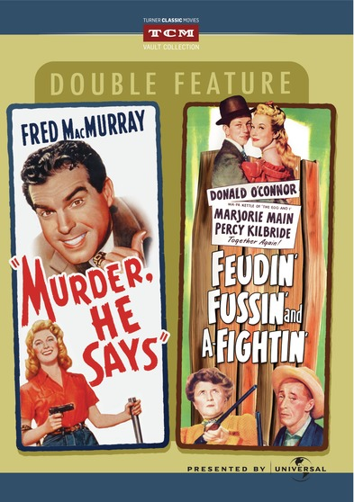 Feudin', Fussin' and a-fightin' / Murder, He Says DVD