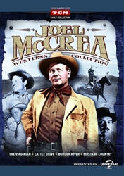 Joel McCrea Westerns Collection DVD