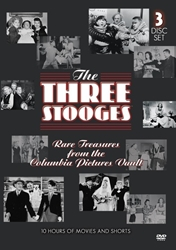 Three Stooges, The (Rare Treasures From the Columbia Pictures Vault)