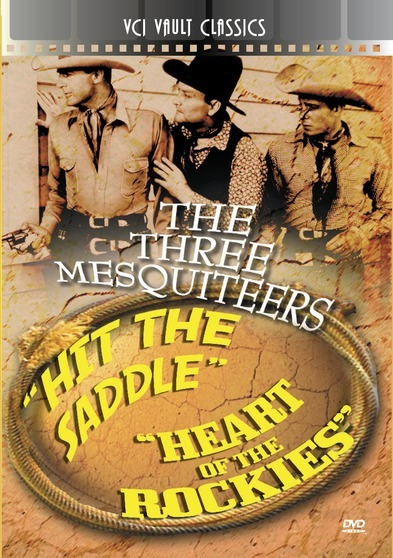 THREE MESQUITEERS Western Double Feature VOL 2 (Hit The Saddle & Heart Of The Rockies)