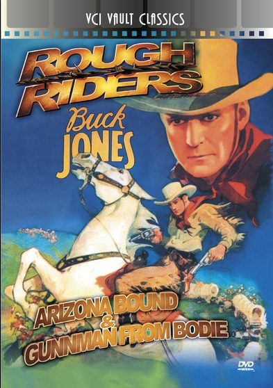 ROUGH RIDERS Western Double Feature VOL 1 (Arizona Bound & Gunman From Bodie)