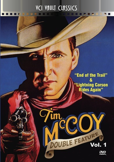 TIM McCOY Western Double Feature VOL 1(End Of The Trail & Lightning Carson Rides Again)