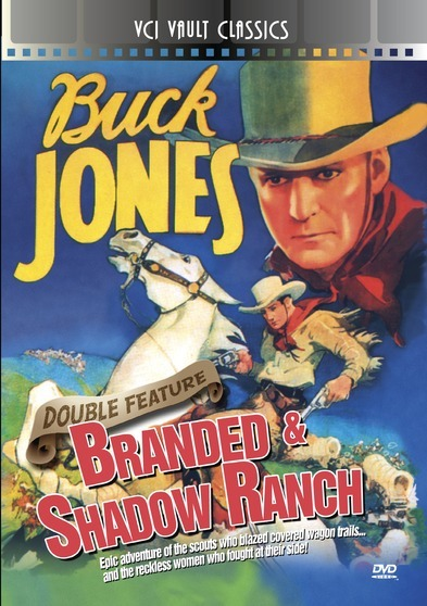 BUCK JONES Western Double Feature VOL 1 (Branded & Shadow Ranch)