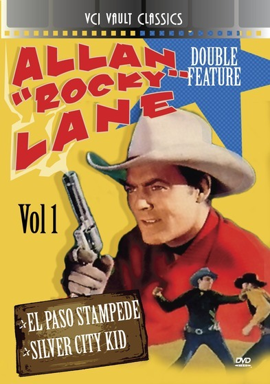 "ALLAN ""ROCKY"" LANE Western Double Feature VOL 1 (El Paso Stampede & Silver City Kid)"
