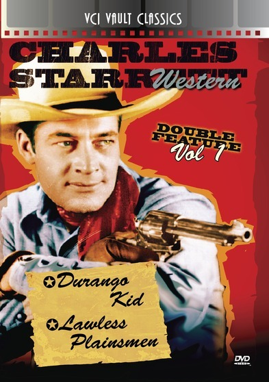 CHARLES STARRETT Western Double Feature VOL 1 (Durango Kid, The & Lawless Plainsmen)