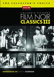 Columbia Pictures Film Noir Classics III DVD Collection [5 disc]