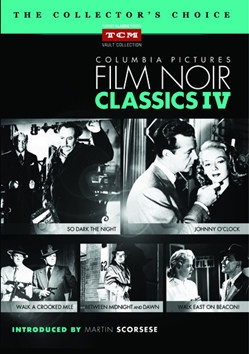 Columbia Pictures Film Noir Classics IV DVD Collection [5 disc]