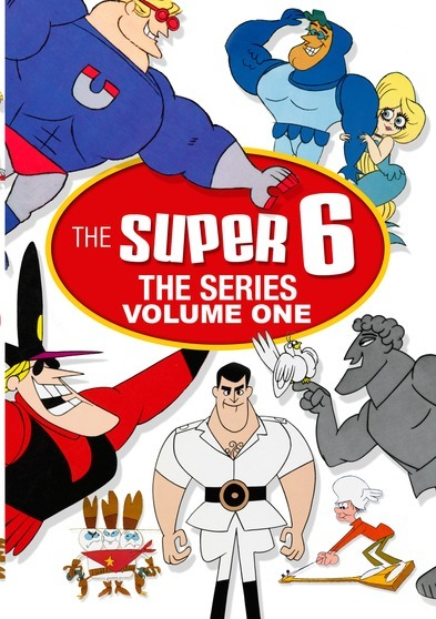 The Super 6 – The Complete Series - Volume One (30 Episodes)