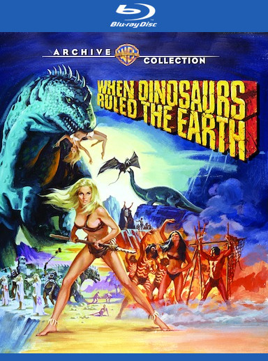 When Dinosaurs Ruled the Earth [Blu-ray]