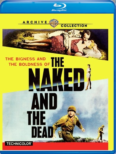 Naked and the Dead, The [Blu-ray]