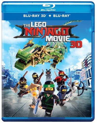 The LEGO Ninjago Movie [3D Blu-ray + Blu-ray + Digital Combo Pack]