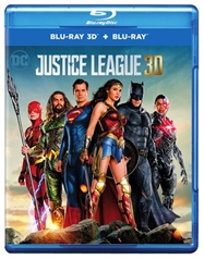 Justice League [3D Blu-ray + Blu-ray + Digital Combo Pack]