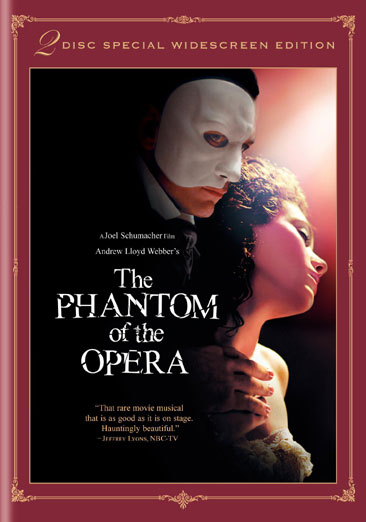 Andrew Lloyd Webber's The Phantom of the Opera 012569702998