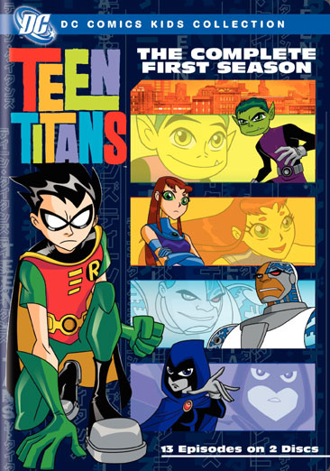 Teen Titans: The Complete First Season 012569747722