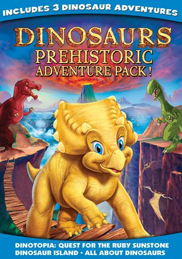 Dinosaurs Prehistoric Adventure Pack 018713583505