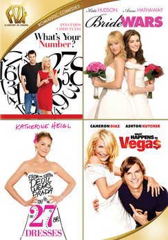 27 Dresses / Bride Wars / What Happens In Vegas / What's Your Number 024543217244