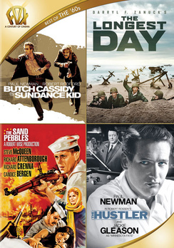 Butch Cassidy and the Sundance Kid / The Longest Day / The Sand Pebbles / Hustler 024543218173
