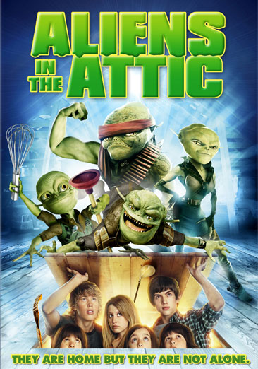 Aliens in the Attic 024543610960