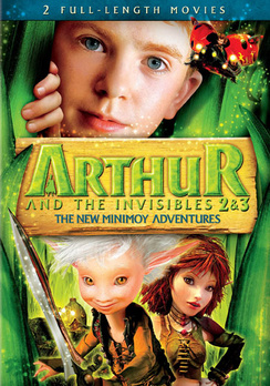 Arthur and the Invisibles 2 & 3: The New Minimoy Adventures 024543737827