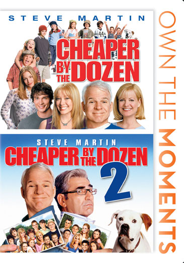 Cheaper by the Dozen 1 & 2 024543806141