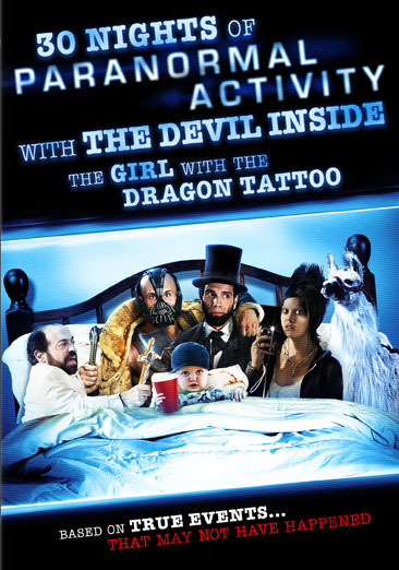 30 Nights of Paranormal Activity with the Devil Inside the Girl with the Dragon Tattoo 024543839637