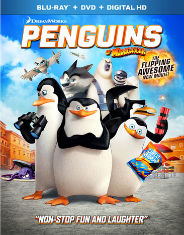 Penguins of Madagascar 024543971757