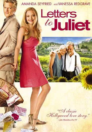 Letters to Juliet 025192067488