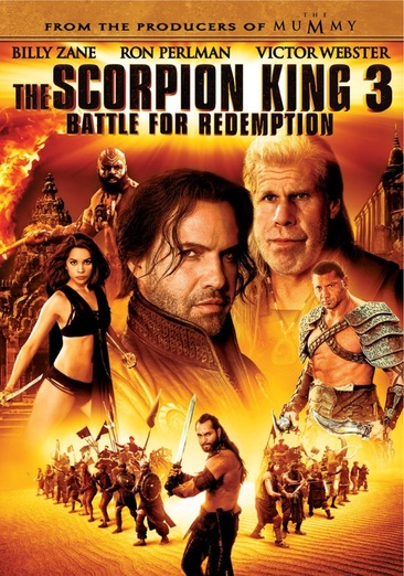 The Scorpion King 3: Battle For Redemption 025192074882