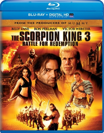 The Scorpion King 3: Battle For Redemption 025192074899