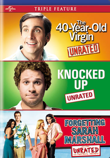 The 40 Year Old Virgin / Knocked Up / Forgetting Sarah Marshall 025192163296