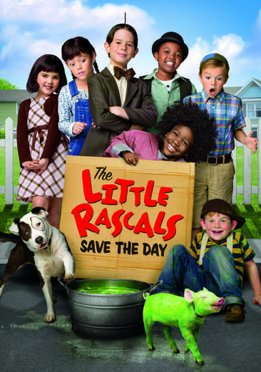 The Little Rascals Save the Day 025192169892