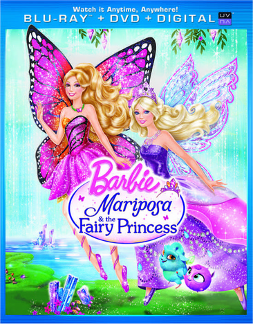 Barbie Mariposa & The Fairy Princess 025192171505