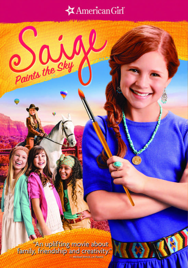 An American Girl: Saige Paints the Sky 025192189180
