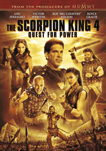 The Scorpion King 4: Quest for Power 025192200892