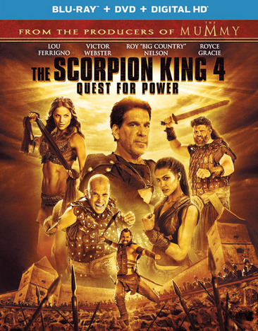 The Scorpion King 4: Quest for Power 025192200953