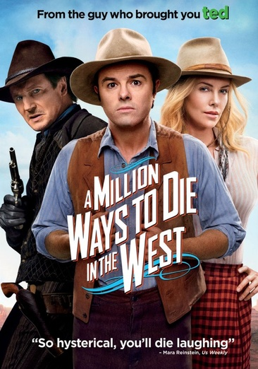 A Million Ways to Die in the West 025192212772