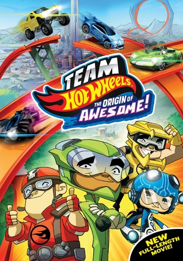 Team Hot Wheels: The Origin of Awesome! 025192240263