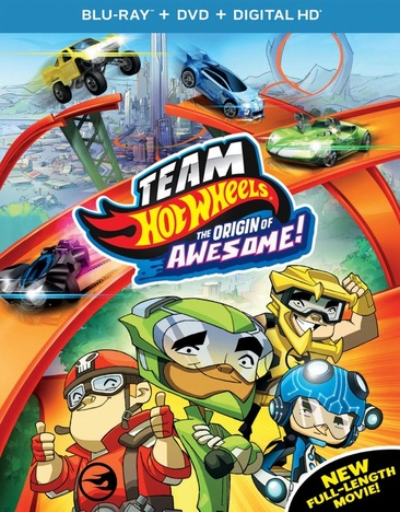 Team Hot Wheels: The Origin of Awesome! 025192240287