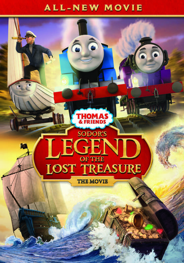 Thomas & Friends: Sodor's Legend of the Lost Treasure - The Movie 025192285493