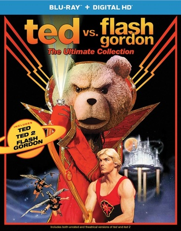 Ted vs. Flash Gordon: The Ultimate Collection 025192354144