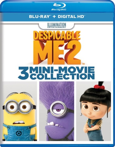 Despicable Me 2: 3 Mini-Movie Collection 025192377297