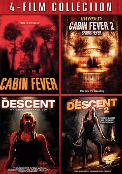 Cabin Fever / Cabin Fever 2 / Descent / Descent 2 031398131656